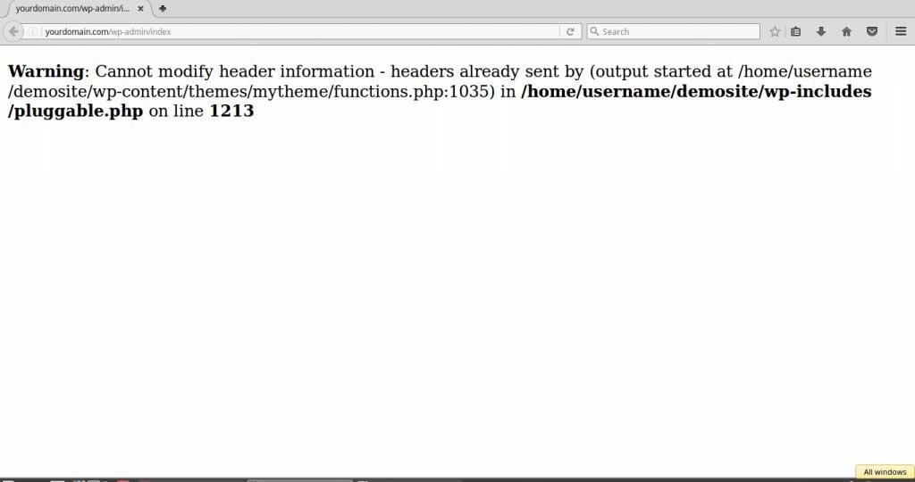حل مشکل فایل pluggable.php در وردپرس